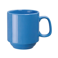 Olympia Heritage Blue Single Handled Stacking Mug - 10oz (Box 6)