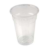 Half Pint to Brim tumbler CE Marked rPET (Box 1000)