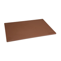 Hygiplas Anti-bacterial Low Density Chopping Board Brown - 450x300x12mm