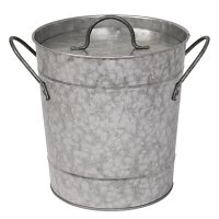 Olympia Ice Bucket Galvanized - 3.4Ltr