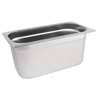 Stainless Steel Gastronorm Pan - 1/3 Size 150mm deep