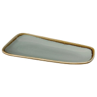 Olympia Kiln Small Platter Moss 260 mm (6 Per Case)