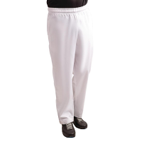 Whites Teflon Easyfit Trousers - White