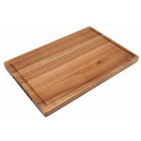 Genware Acacia Wood Serving Board 34 x 22 x 2cm