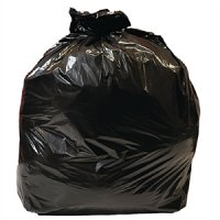 Jantex Medium Duty Black Bin Bags (10PP)
