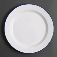 Olympia Enamel Dinner Plates 300mm