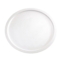 Pure Serving Plate Melamine White - 380mm