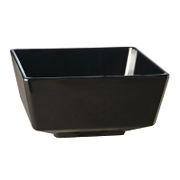APS Float Black Square Bowl 5in