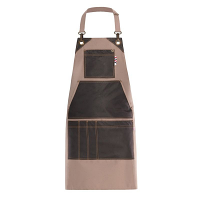 Giblor's Magritte Bib Apron Taupe