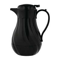Olympia Insulated Swirl Jug Black 2L