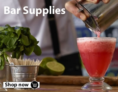 Browse our cocktail supplies, wine coolers, bar optics, ice crushers