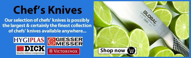 Buy Chefs Knives & Knife Sets, Hygiplas, Victorinox, Dick and Giesser