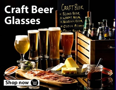Take a look at our Craft Beer Glasses