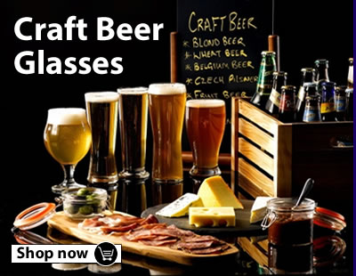 Craft Beer Glasses from Genware