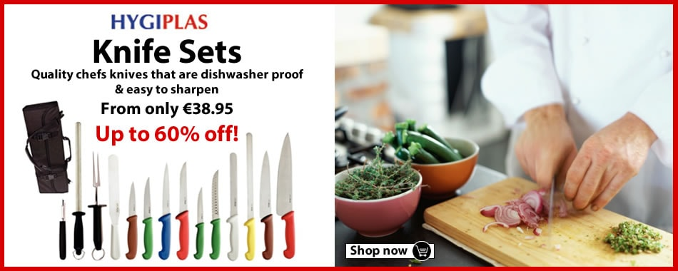 Browse our Hygiplas Branded Knife Sets now!