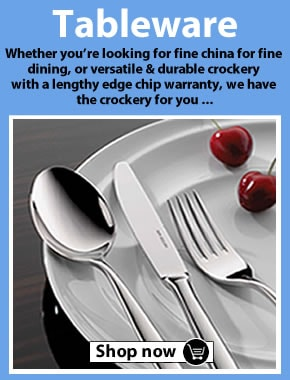 Shop all our tableware - Crockery, Cutlery & Glassware