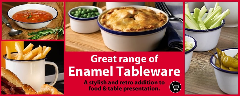 Buy Now! - Enamel Plates, Cups & Bowls