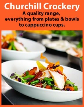 Browse Churchill Whiteware Crockery - Plates, Cups and Bowls