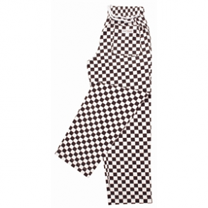 Easyfit Pants - Big Black Check