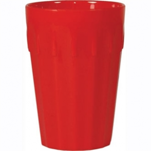 Kristallon Polycarbonate Tumblers Red 260ml (Box 12)