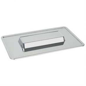 Raised Centre Display Tray one step St/St 1/1 GN - 36x325x530mm