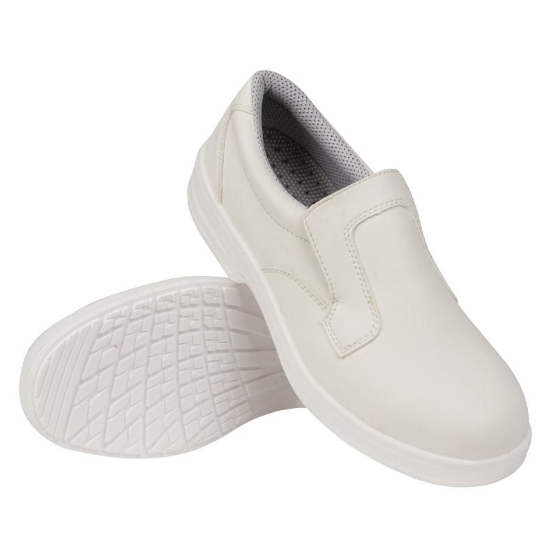 Lites Safety Slip On White