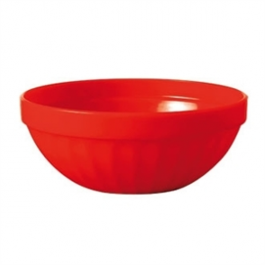 Kristallon Polycarbonate Bowls Red 102mm (Box 12)