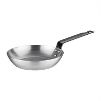 Vogue Black Iron Fry Pan 180MM