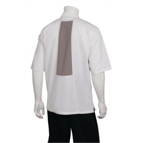 Chef Works Valais Signature Series Unisex Chefs Jacket White