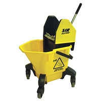 SYR Mop Bucket & Wringer  Set Yellow
