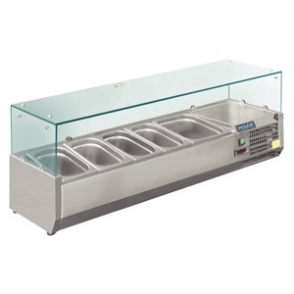Polar Refrigerated Servery Topper 4 GN