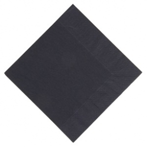 Duni Lunch Napkin 330mm Black
