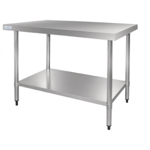 Vogue Stainless Steel Table 1800mm