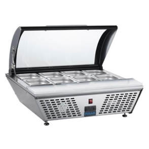 Polar Refrigerated Countertop Servery with Chopping board
