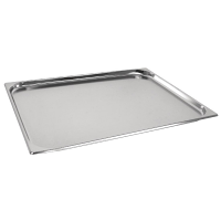 Vogue Stainless Steel GN 2/1 Pan 20mm