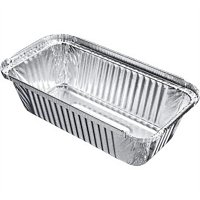 Large Rectangular Foil Container (500pc)