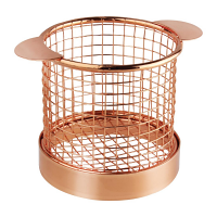 Olympia Round Chip Presentation Basket Copper