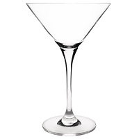 Olympia Campana One Piece Crystal Martini Glass