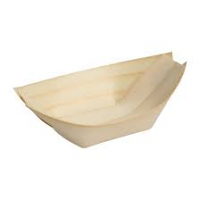 Fiesta Birch Wooden Boat 80mm (Pack of 100)