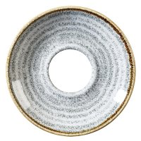 Churchill Studio Prints Stone Grey Cappuccino Saucer 156mm