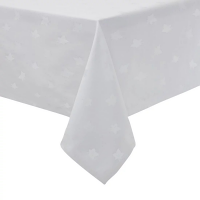 Luxor Tablecloth White 900 x 900mm