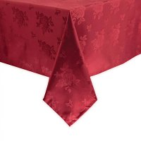 Traditions Tablecloth Burgundy Roslin 1780 x 2750mm