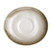 Olympia Birch Taupe Saucers 141 x 126mm