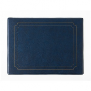 PVC Blue Place Mat (Box 6)
