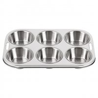 6 Cup Deep Muffin Tray