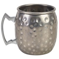 Vintage Barrel Mug Hammered 40cl/14oz