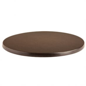 Werzalit 600mm Wenge Round Table Top