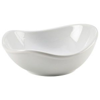 Royal Genware Organic Triangular Bowl 15 x 14.3 x 6.1cm