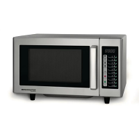 Menumaster Commercial Light Duty Microwave Touchpad 1000W