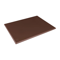 Hygiplas Low Density Chopping Board Brown - 600x450x20mm